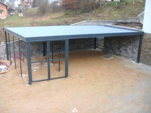Izdelava ravnih streh cena
